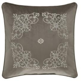 "J Queen New York Crestview 18"" Square Decorative Throw Pillow Bedding"