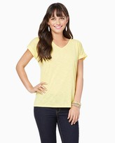 Charming charlie Margot Twist Back Tee