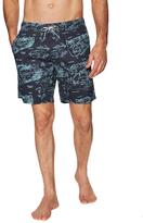 Barney Cools Woven Print Sunday Shorts