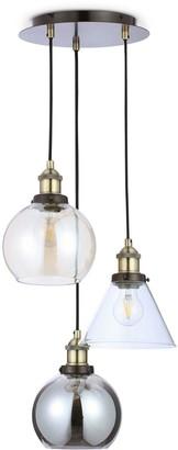 Newark Industrial 3-Light Cluster Light
