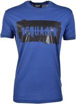 DSQUARED2 Brand Print T-shirt