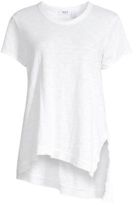 Wilt Asymmetrical Short Sleeve Tunic