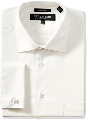 Stacy Adams Stacy Adam's Men's Big and Tall Adjustable Collar Dress Shirt