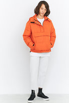 Shore Leave By Urban Outfitters Orange Overhead Puffer Jacket