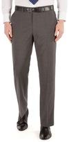 Karl Jackson Grey Stripe Regular Fit Washable Suit Trouser