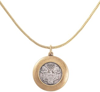 Uncommon James by Kristin Cavallari Great Seal Coin Necklace