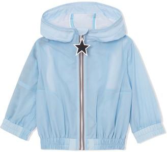 BURBERRY KIDS Logo Print Lightweight Jacket