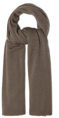 Rick Owens 34 Wool Scarf - Grey