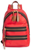 Marc Jacobs 'Mini Biker' Nylon Backpack - Red