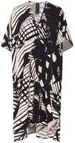 Zero Maria Cornejo Elie Print Dress