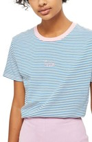 Topshop Petite Women's Voila Stripe Tee