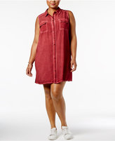 Soprano Plus Size Shirtdress