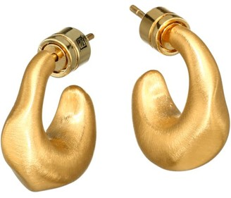 Dean Davidson 22K Goldplated Chunky Huggie Hoop Earrings
