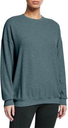 Alo Yoga Soho Crewneck Pullover Sweatshirt