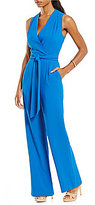Antonio Melani Oona Stretch Crepe Jumpsuit
