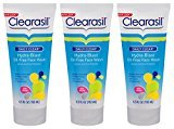 Clearasil Daily Clear Acne Face Wash, Hydra-Blast Oil-Free Face Wash, 6.5 oz(Pack of 3)