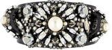 Erickson Beamon Embellished Crystal & Pearl Spike Cuff