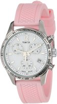 Timex Women's Kaleidoscope T2P063 Rubber Analog Quartz Watch