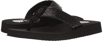Yellow Box Flax (Black) Women's Sandals