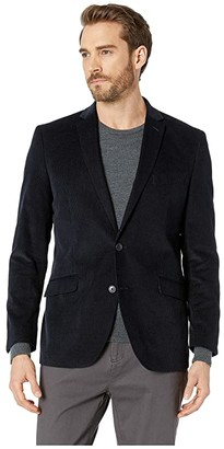 Kenneth Cole Reaction Unlisted Corduroy Sportcoat (Grey) Men's Jacket