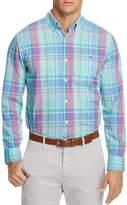 Vineyard Vines North Hill Plaid Tucker Slim Fit Button-Down Shirt