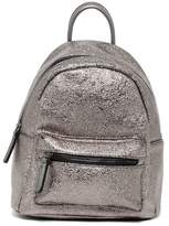 Urban Expressions Luna Shimmery Vegan Leather Mid Backpack