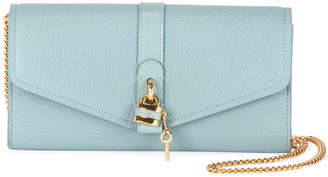 Chloé Aby Long Flap Wallet on Chain