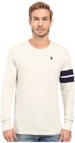U.S. Polo Assn. Long Sleeve Crew Neck Knit Shirt