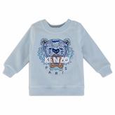 Kenzo Logo Blue Sweater