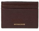 Burberry Sundon Leather & House Check Card Holder