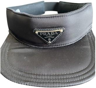 Prada Black Polyester Hats