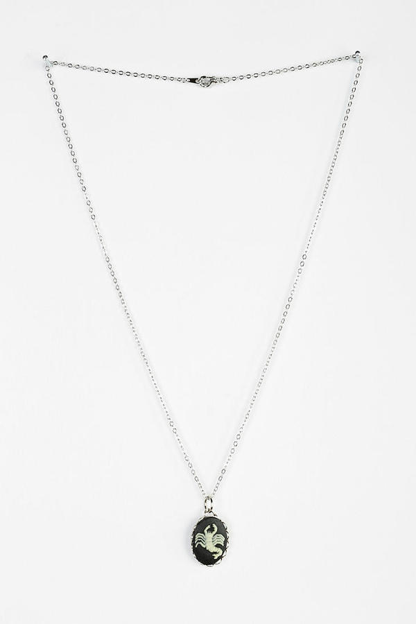 Urban Outfitters Hullabaloo X Urban Renewal Celestial Sign Necklace