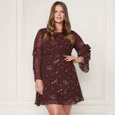 Lauren Conrad Runway Collection Floral Fit & Flare Dress - Plus Size