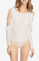 BCBGMAXAZRIA Anabella Lace Bodysuit