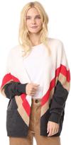 Wildfox Couture Team Spirit Vanish Cardigan