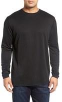 Bugatchi Long Sleeve Crewneck T-Shirt