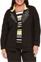 Alfred Dunner Casual Friday Blazer-Plus