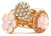 Charlotte Russe Stackable Blossom Ring Set