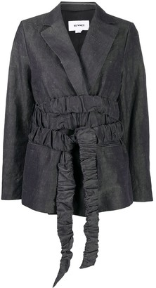 Sunnei Wrap-Around Waist Blazer