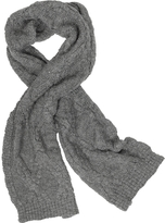 Paul Smith Men's Cable Knit Wool Blend Scarf