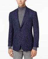 Kenneth Cole Reaction Men's Slim-Fit Soft Navy Bouclé Sport Coat