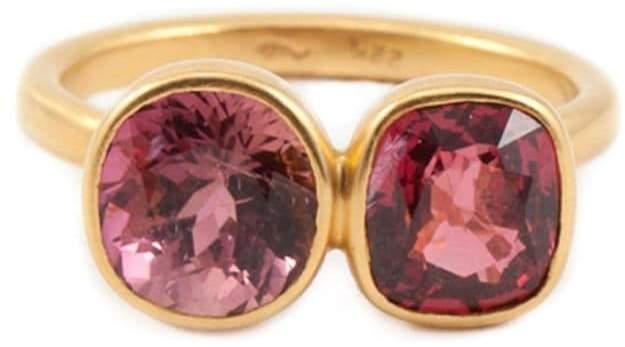Marie Helene De Taillac tourmaline ring