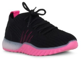 Danskin Positive Lace Up Sneaker with Contrast Upper Women's Shoes