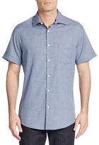 Saks Fifth Avenue Regular-Fit Printed Cotton Sportshirt