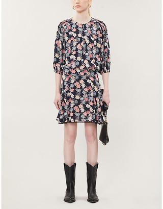 Zadig & Voltaire Raspali floral print midi dress