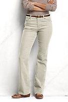Lands' End Women's Petite Pre-hemmed Fit 2 Corduroy Boot-cut Pants-Radiant Navy Stripe