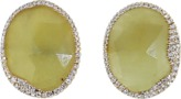 Monique Péan Yellow Sapphire And Diamond Stud Earrings