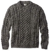 L.L. Bean Heritage Sweater, Irish Fisherman's Crewneck