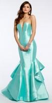 Jovani Strapless Mikado Prom Dress