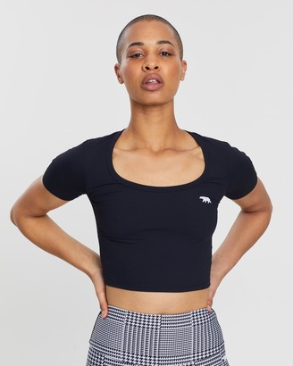 Running Bare The Hundred Cropped Tee